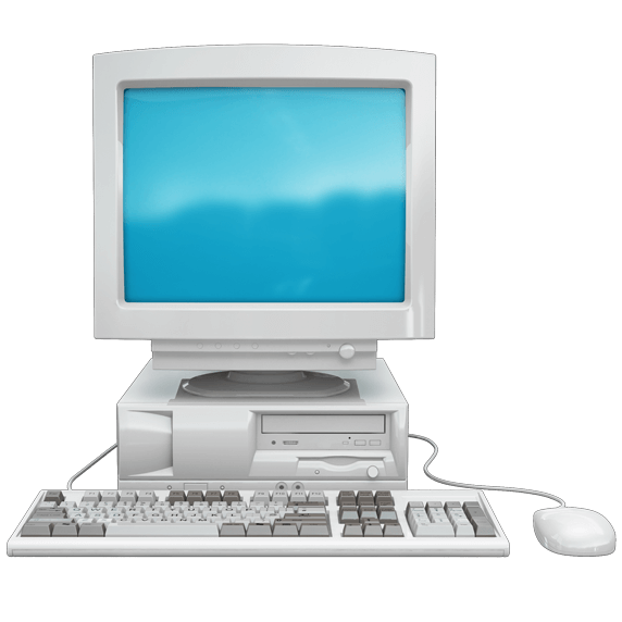 old computer icon